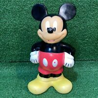Vintage Disneyland Theme Park Mickey Mouse Drinking Bottle Figure