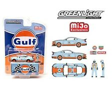 Greenlight 1 64 Mijo Exclusives 2021 Ford Mustang Mach Gulf Figure