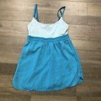 Lululemon Bliss Tank 4 Surge (Teal Blue) Wee Stripe Swift Luon Top Shirt