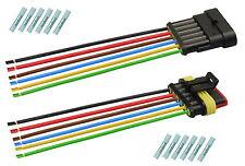AMP Superseal Set Steckverbinder 6-polig 1,50² Stecker Kabel Elektrik KFZ LKW