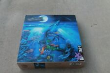 550 PC MASTERPIECES JIGSAW PUZZLE DOLPHIN REEF OCEAN DAVID MILLER
