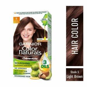 Garnier Pelo Color Crema sin Amoníaco & Gris Cobertura Marrón Claro Tonos -