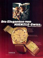 Kienzle-Automatic-70-Reklame-Werbung-vintage print ad-Vintage Publicidad-老式平面广告