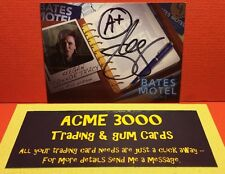 Breygent - Bates Motel Season 2 AUTOGRAPH CARD Keegan Connor Tracy AKC1 - Black