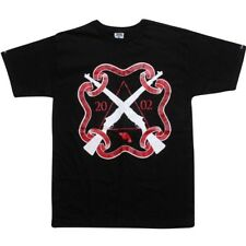 $49.99 Crooks and Castles Gun Club Tee (black / red) 810703Blk