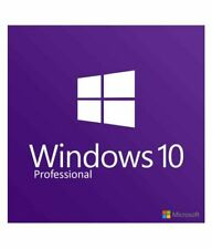 Windows 10 Pro Aktivierungspaket 64-bit | Software DVD + Original Produkt-Key