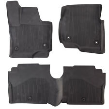 OEM NEW 2018 Ford Expedition All Weather Tray Style Rubber Contour Floor Mats