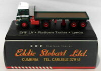 Atlas Editions 1/76 Scale 4 649 123 ERF LV Platform Trailer Lynda Eddie Stobart