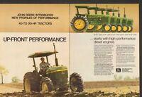 1980 2 Page Print Ad of John Deere 2940 2640 2440 2240 & 2040 Farm Tractor
