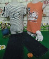 lot vêtements occasion garçon 6 ans,débardeur TAPE A L'OEIL,t-shirt,bermuda jean