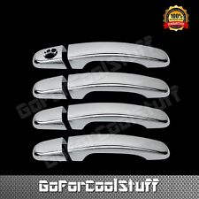 For 06-09 Pontiac Torrent 4Drs Handle W/O Psgkh Chrome Abs Covers