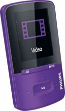 PHILIPS Go Gear Vibe MP4 Player 8GB Purple Boxed