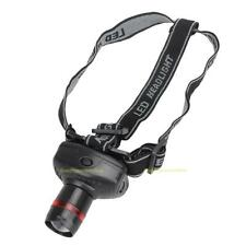 #QZO 500LM 3W CREE LED Headlamp Flashlight ZOOMABLE Headlight Head Torch Lamp