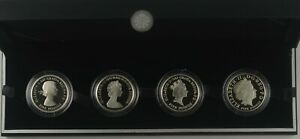 2013 THE QUEEN'S PORTRAIT COLLECTION £5 SILVER PROOF FOUR COIN SET