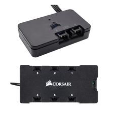 New Genuine CORSAIR Lighting Node PRO + Corsair RGB LED Fan hub iQue Compaitble