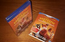 FANTASTIC MR FOX Blu-ray UK region b free P&P (w/ rare OOP slipcover slipcase)