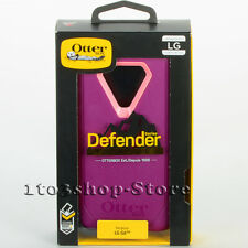 OtterBox Defender LG G6 Shockproof Hard Case Purple Pink No Holster Belt Clip