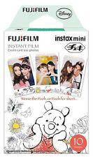 Japan Original Fujifilm Instax Disney Pooh Photo Film Fuji Mini 25 /50s Mini 8