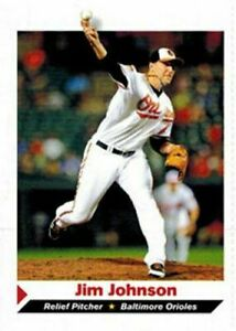 Jim Johnson 2012 Baltimore Orioles SPORTS Illustrated Baseball Scheda