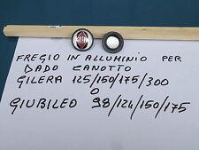 FREGIO o SCRITTA IN METALLO RICAMBIO GILERA 125/150/175/GIUBILEO 98/124/150/175