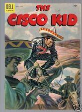 CISCO KID #26, 1955 DELL COMIC