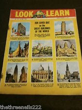 LOOK and LEARN # 172 - BUILDINGS OF THE WORLD QUIZ - MAY 1 1965