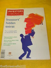 INVESTORS CHRONICLE - NATIONAL GRID - JULY 30 1999