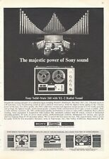 1966 Sony Superscope Reel to Reel Models XL-260-660-250A-530 PRINT AD