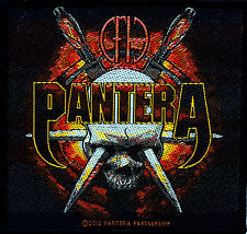 Pantera Cowboys Vulgar Display Metal Rock Parche Cuero Chaqueta Vaquera Parches