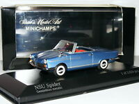 Minichamps 1964 NSU Spider Metallic Blue LTD ED 1/43