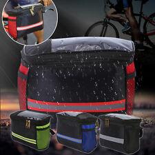 Waterproof Cycling Bike Bicycle Front Tube Handlebar Phone Storage Bag Pack DH