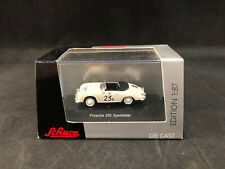 Schuco Porsche 356 Speedster 1:87 Scale Die Cast Metal - New Ships Free