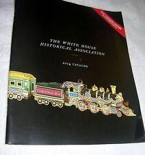 "VINTAGE ""WHITE HOUSE HISTORICAL ASSOCIATION 2014 COLOR CATALOG"" PAPERBACK, 72 PA"