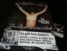 KING ORGASMUS ONE LA PETITE MORE POSTER PLAKAT NEU + STICKER LIMITED RAP ORGI69