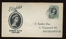 Trinidad & Tobago Qe Coronation First Day Cover 1953 G.P.O. Post Office Trinidad