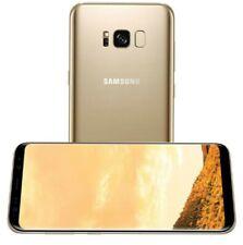 """Samsung Galaxy S8 5.8"""" 64GB+4GB ITALIA Smartphone Android Gold Nuovo Italia"""