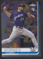 Topps - Chrome 2019 - # 84 Corbin Burnes - Milwaukee Brewers RC