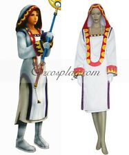 Final Fantasy XII Yuna White Mage Cosplay Costume E001