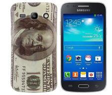 TPU Case f Samsung Galaxy Advance G350E Schutzhülle Cover Tasche Dollar USA 100$