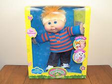 "Cabbage Patch Kids 14"" Boy Plush Doll Blonde Hair Blue Eyes Caucasion*BRAND NEW*"