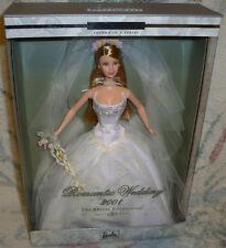 Romantic Wedding Barbie Doll 2001 Bridal collection 2nd n series NRFB Mattel