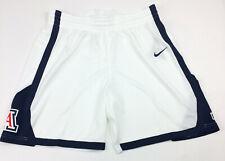 New Nike Arizona Wildcats Basketball Elite Short Women's Medium White AV2251 $45