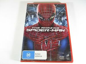 The Amazing Spider-Man DVD M PAL Brand New Sealed Marvel 2012 Colombia Pictures.