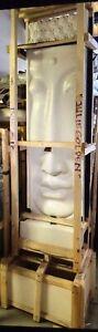BALINESE BUDDHA WATER FEATURE (WHITE TERRAZZO)