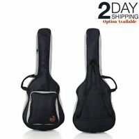 Acoustic Guitar Padded Gig Bag Backpack Double Strap Waterproof Cover Soft Case