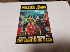 Justice League of America: The Lightning Saga Vol. 2 SC SIGNED by Brad Meltzer
