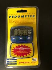 Sportline 345 (SP2799BL) Calorie Counting Pedometer. NEW. SEALED.