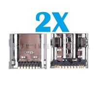 2X Samsung Galaxy Tab 3 P5200 Micro USB Charger Charging Port Dock Connector