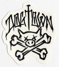 Dogtown skateboards old school skateboard autocollant-official skate surf board