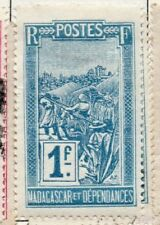 F (Fine) Malagasy Stamps